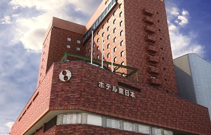 ホテル東日本 盛岡/外観パース